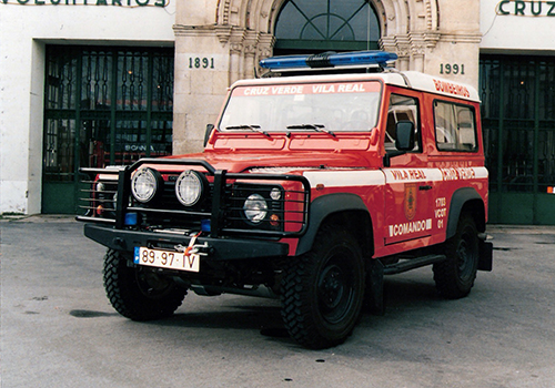 1998 - Auto-comando da Land Rover