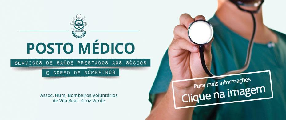 Consultar agenda do Posto Médico da Cruz Verde