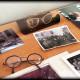 Óculos que perteceram a Rodrigo Araújo