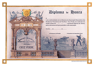Diploma de Honra AHBVVRCV