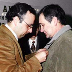 António Mota (Condecorado pela LBP,  pelos 25anos de serviço)