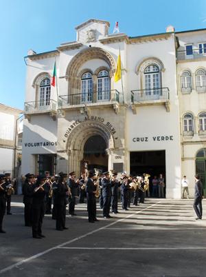 A Banda de Mateus toca o Hino da Associação – 13/10/2007