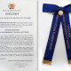 Medalha de Mérito de Honra da Proteção e Socorro / Grau Ouro e Distinção Azul - 01/12/2007