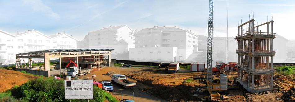 1ª Fase da construção do Centro de Formação da Cruz Verde