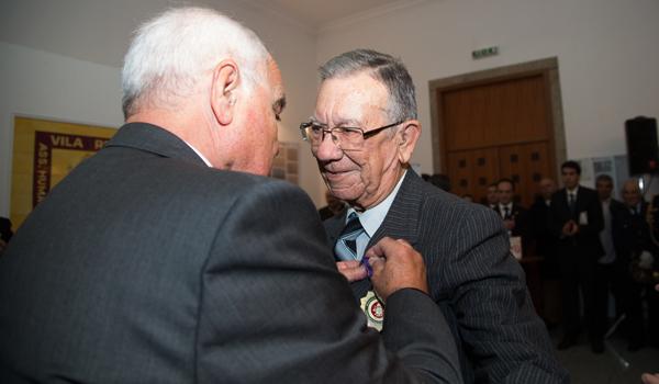 Chefe Francisco Barros - Medalha Dedicação
